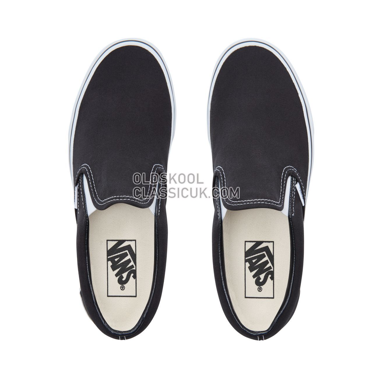 Vans Classic Slip-On Sneakers Mens Black VN000EYEBLK Shoes