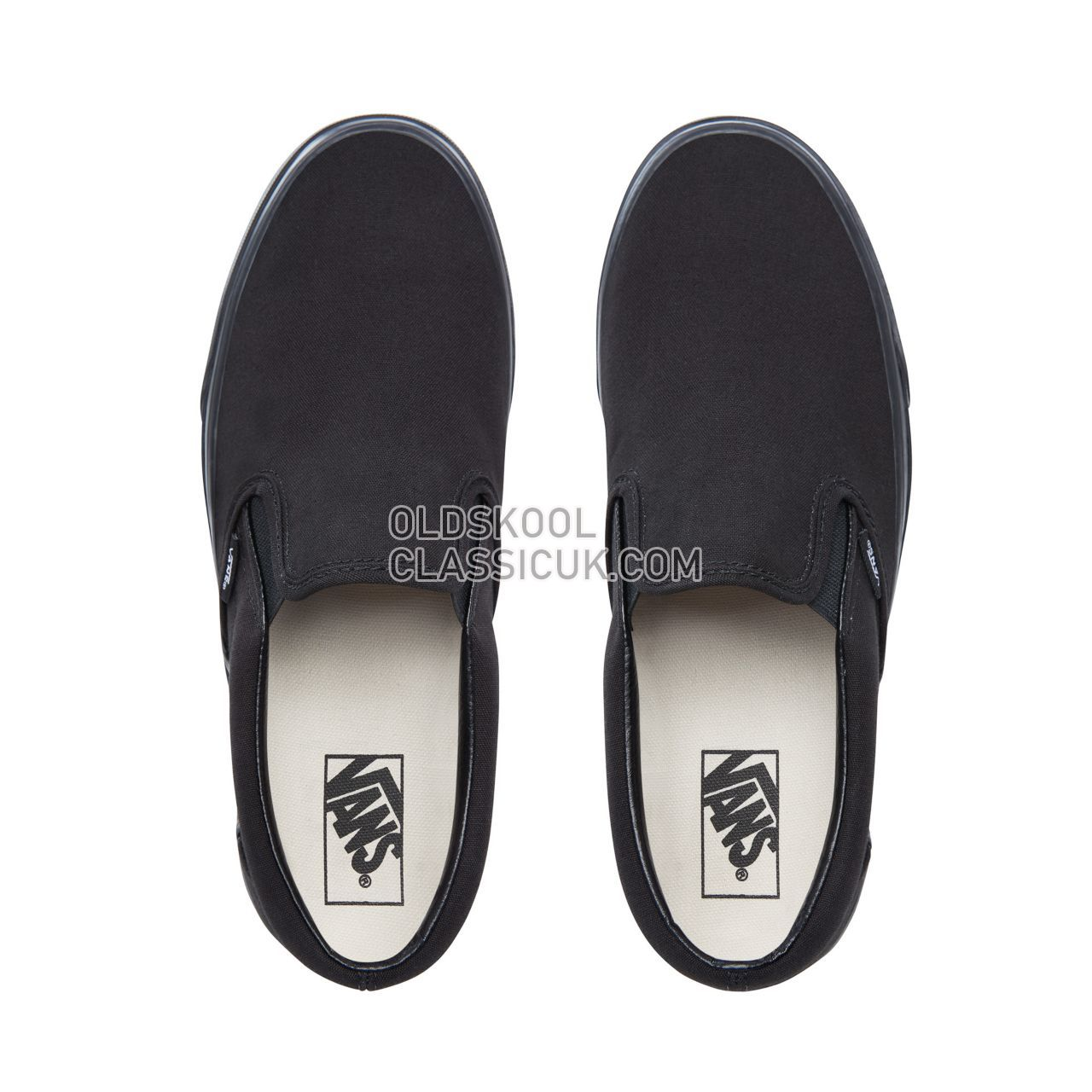 Vans Classic Slip-On Sneakers Mens Black VN000EYEBKA Shoes