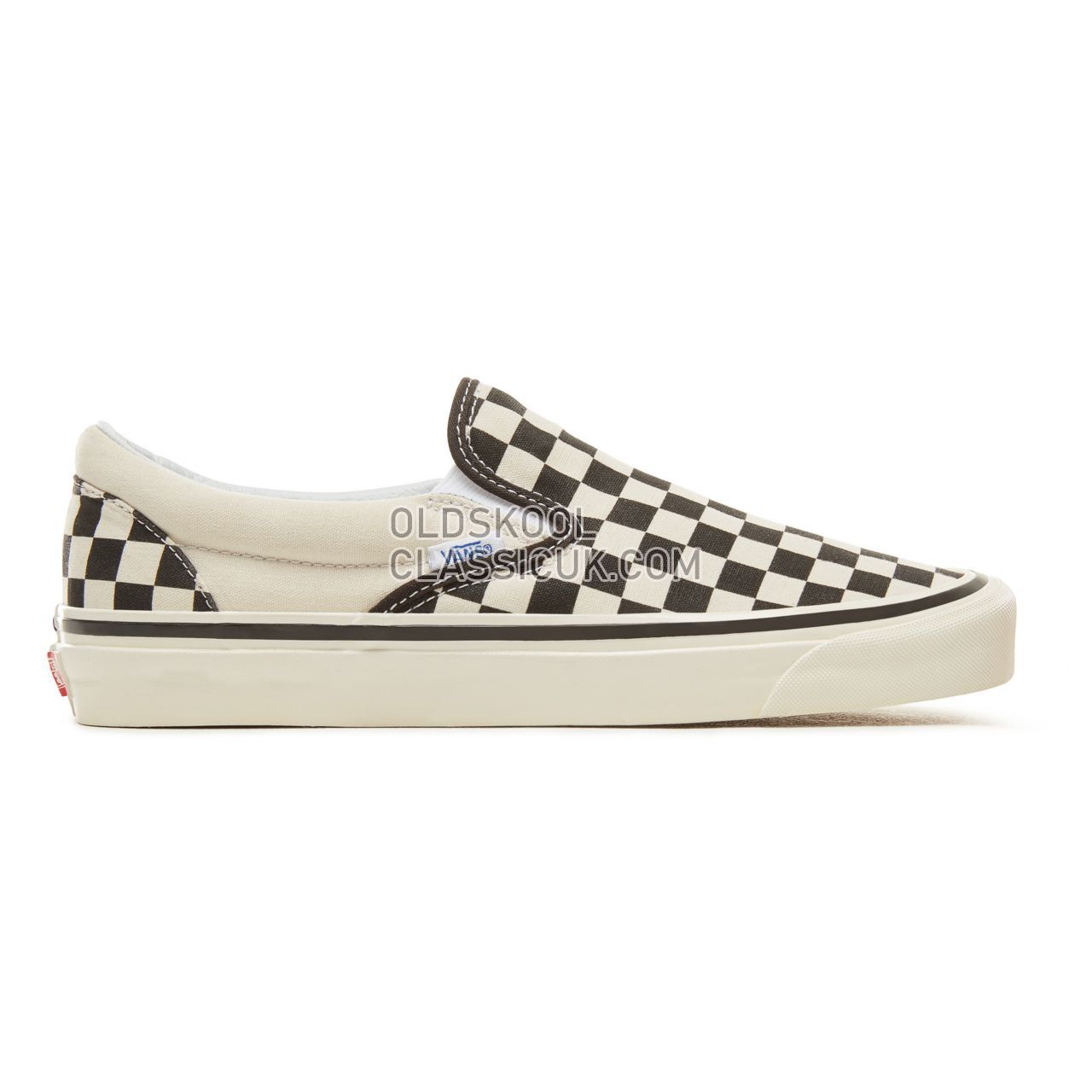 Vans Anaheim Factory Classic Slip-On 98 Sneakers Mens Checkerboard-Black-White VA3JEXPU1 Shoes