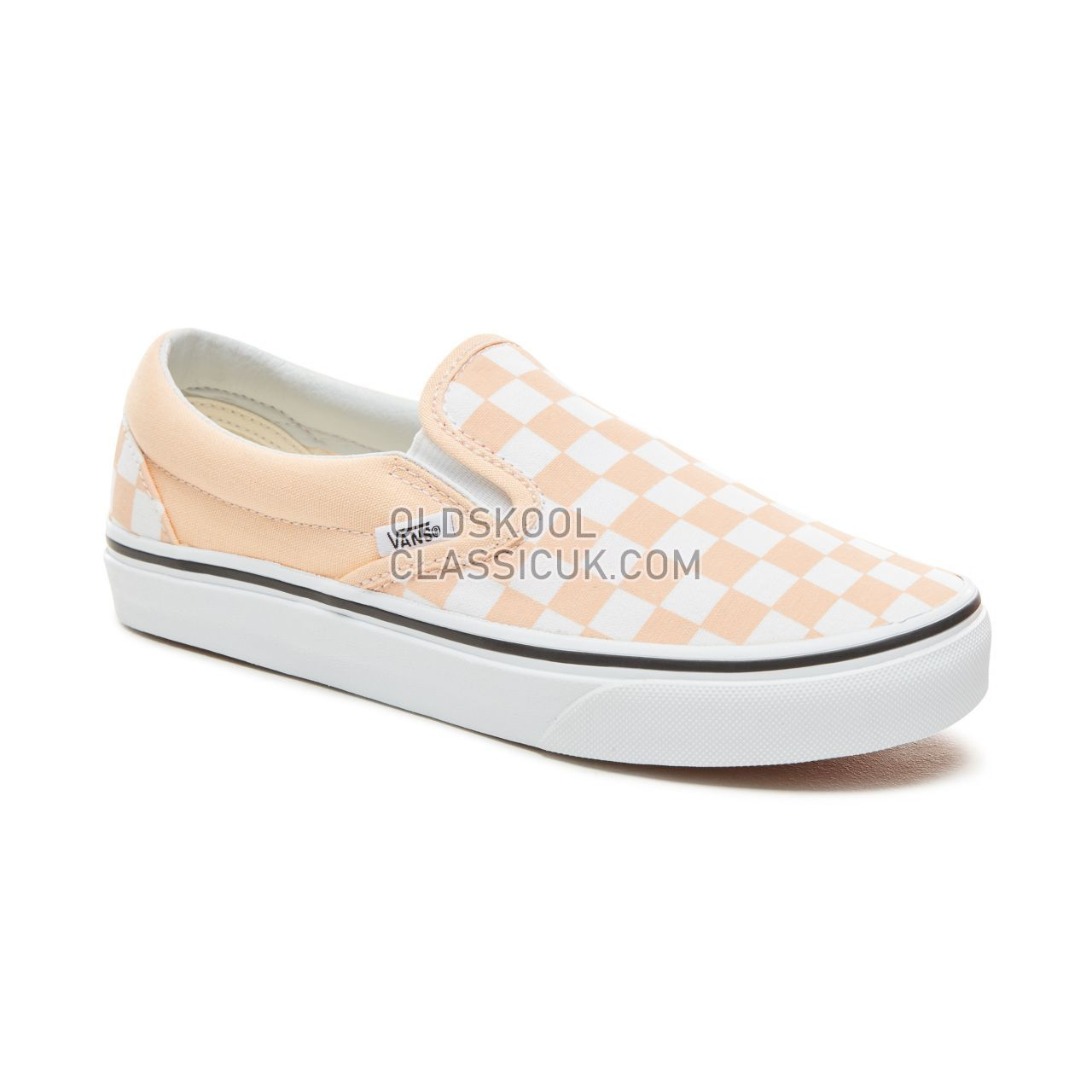ddeacf5352 ... Vans Color Theory Checkerboard Classic Slip-On Sneakers (Unisex) Mens  (Checkerboard) ...