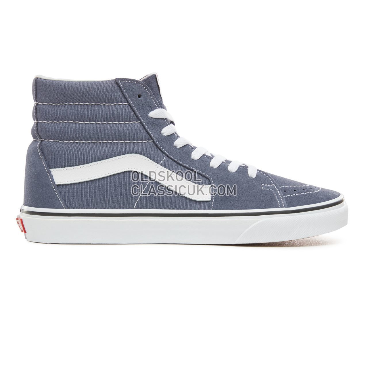 Vans Sk8-Hi Sneakers Mens Grisaille/True White VN0A38GEUKY Shoes