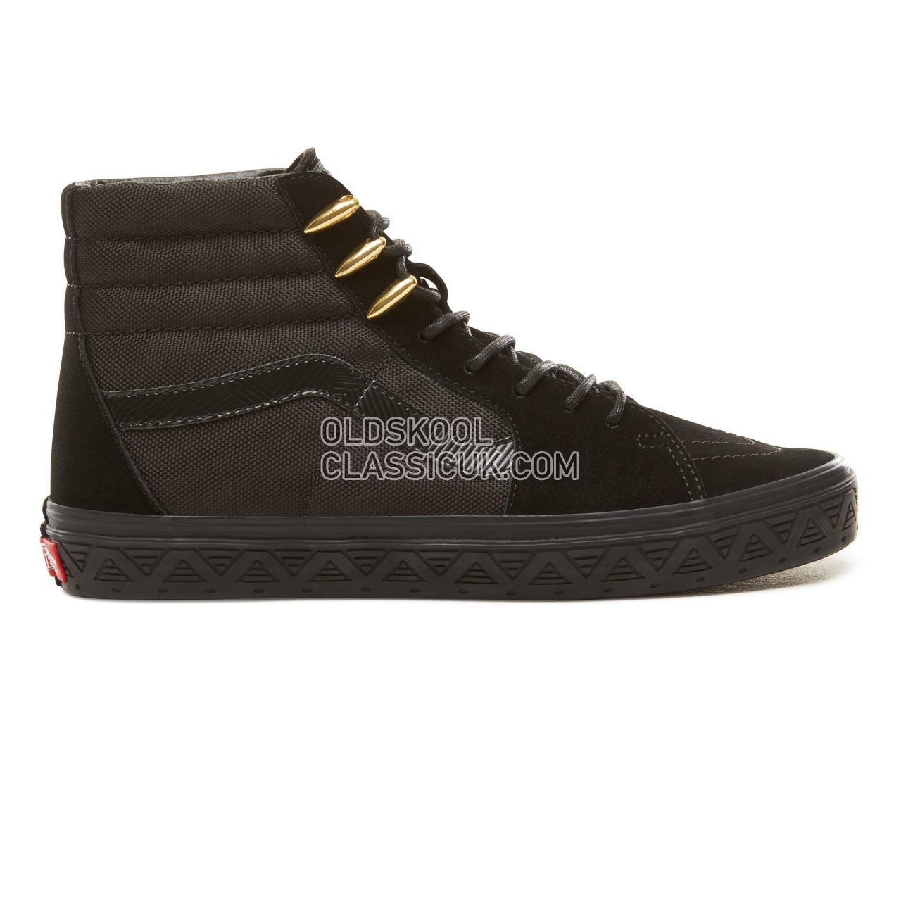 Vans X Marvel SK8-Hi Sneakers Mens (Marvel) Black Panther/Black VA38GEUBH Shoes