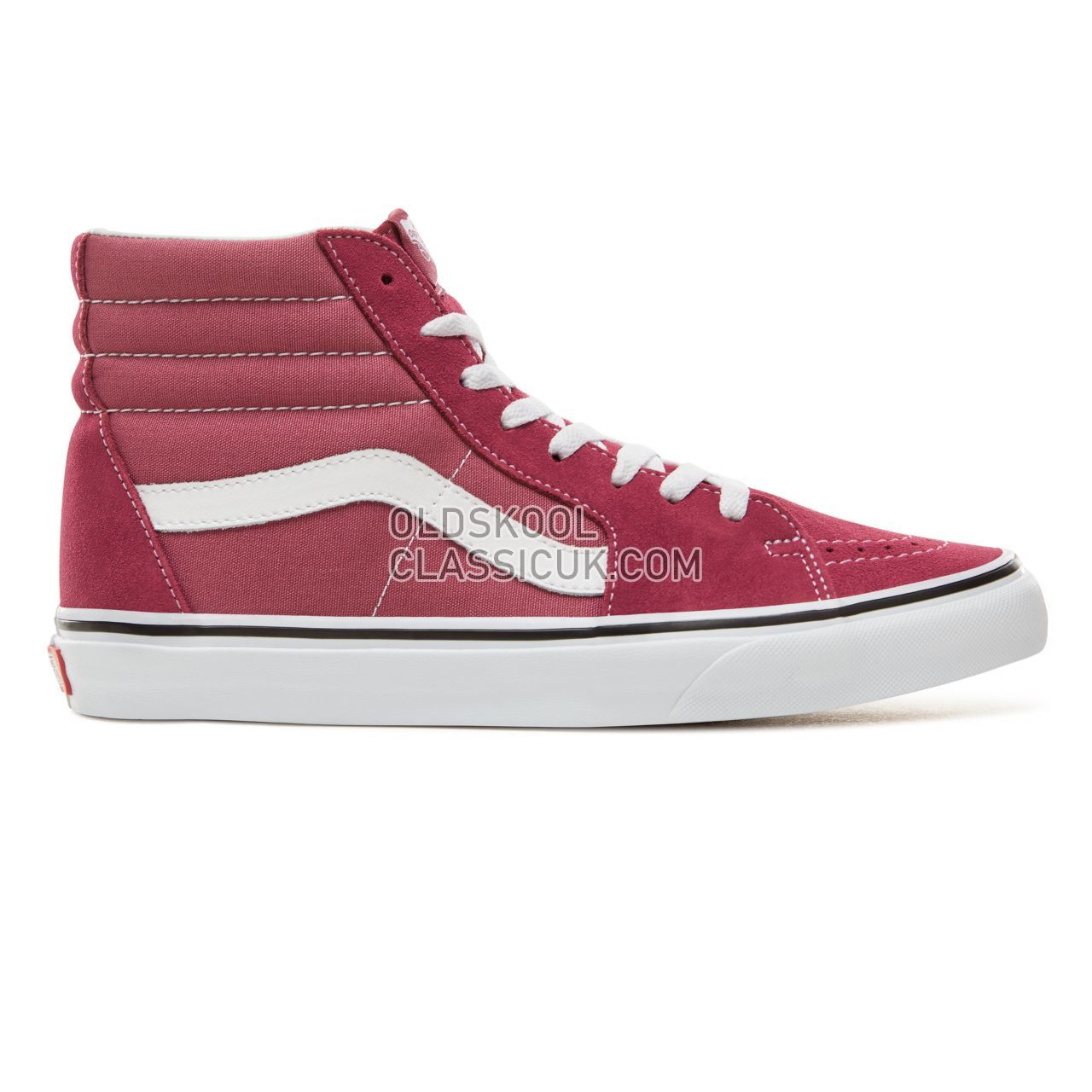 Vans Color Theory Sk8-Hi Sneakers (Unisex) Mens Dry Rose/True White VA38GEU64 Shoes