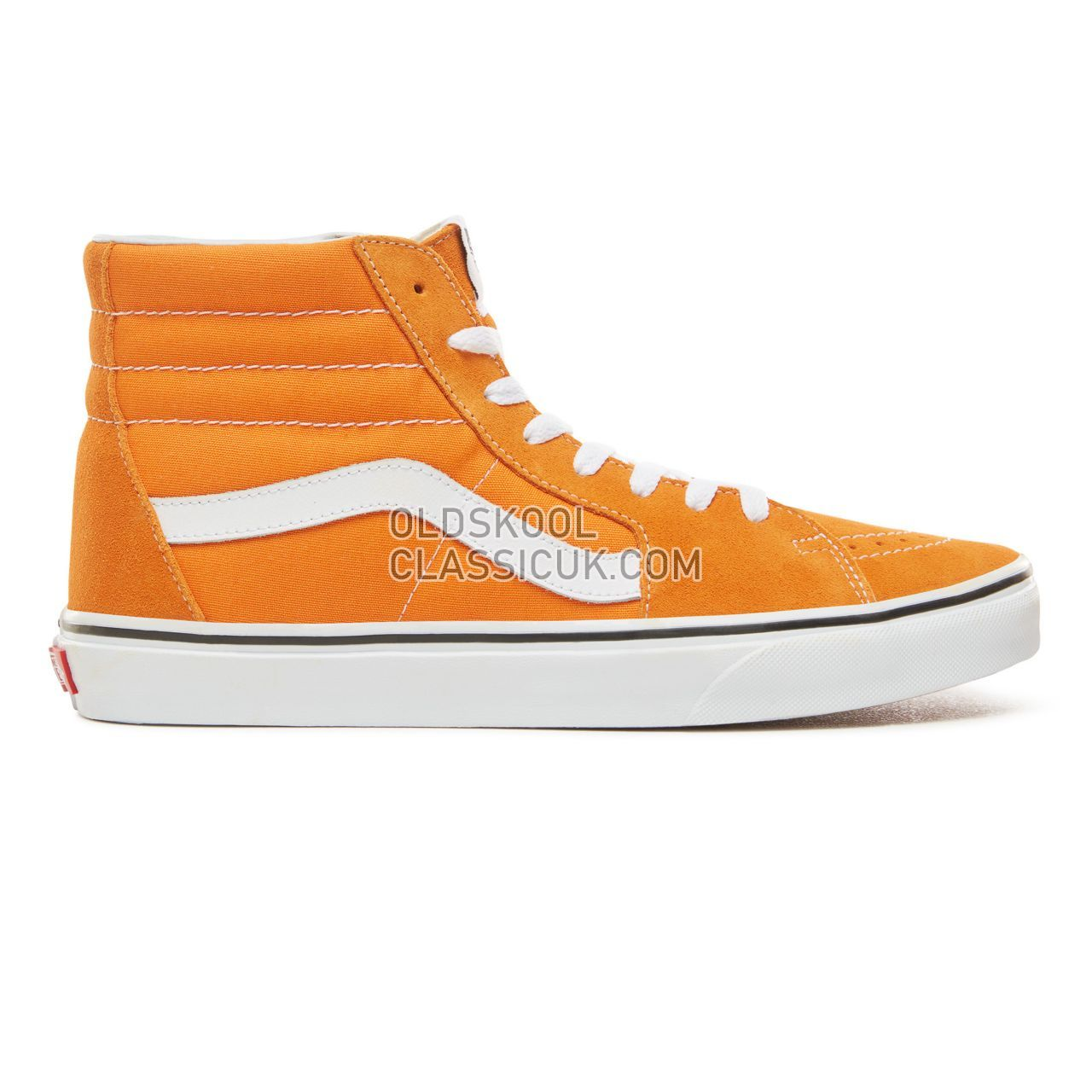 Vans Sk8-Hi Sneakers Mens Dark Cheddar/True White VN0A38GEUKU Shoes