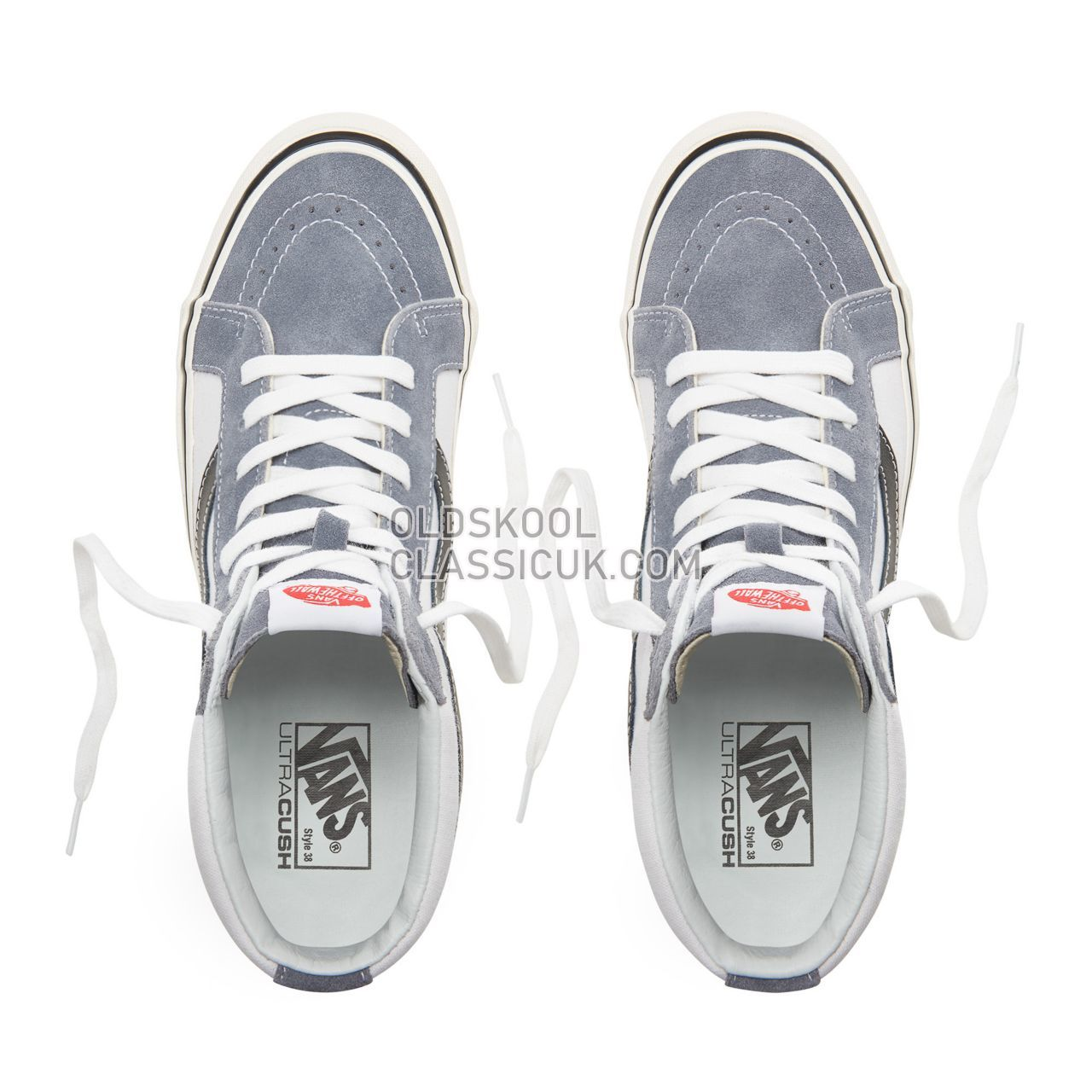 Vans Anaheim Factory Sk8-Hi 38 Dx Sneakers Mens (Anaheim Factory) Og Dark Gray/Og White VN0A38GFUQ1 Shoes