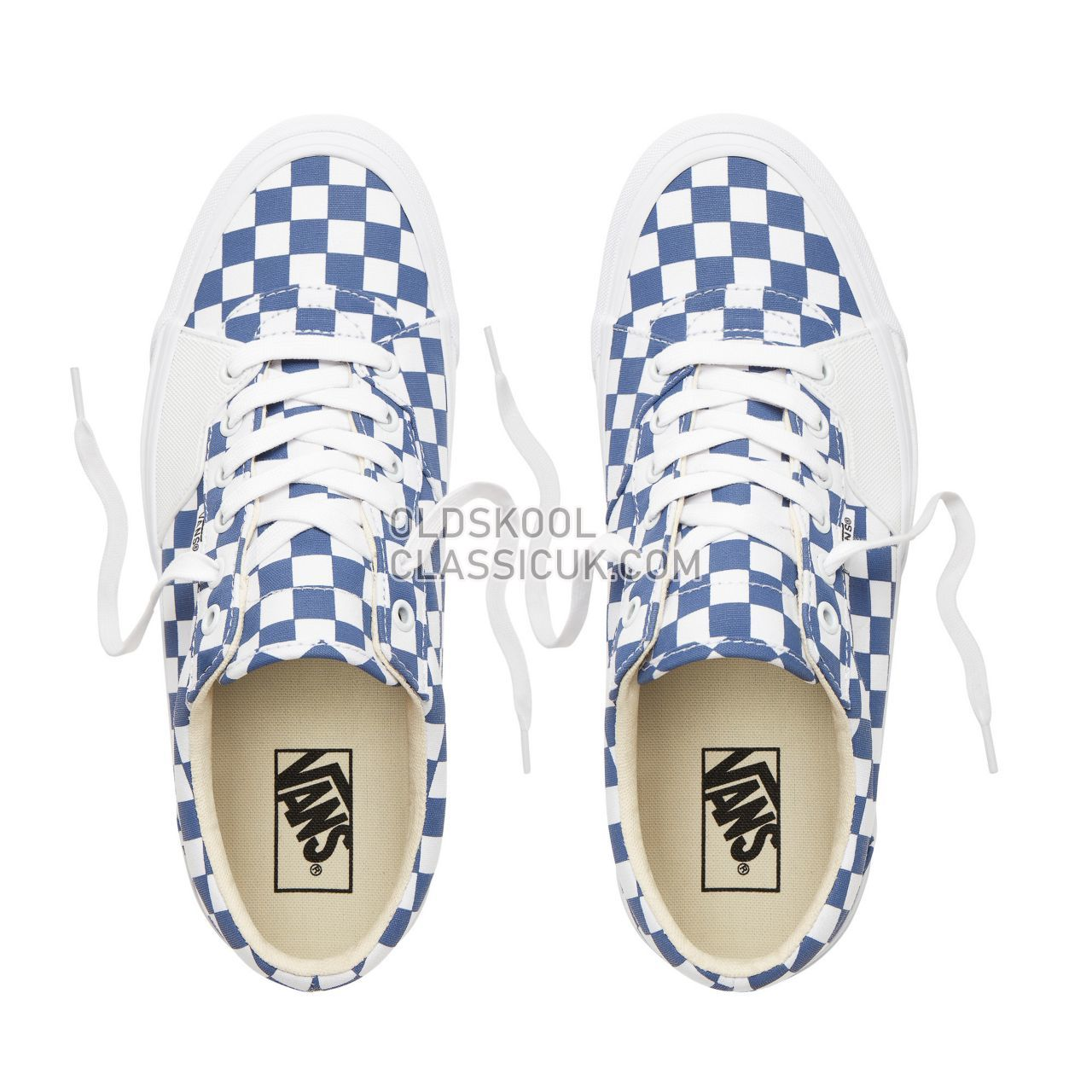 Vans Checkerboard Style 205 Sneakers Mens (Checkerboard) True Navy/True White VN0A3DPTUR4 Shoes
