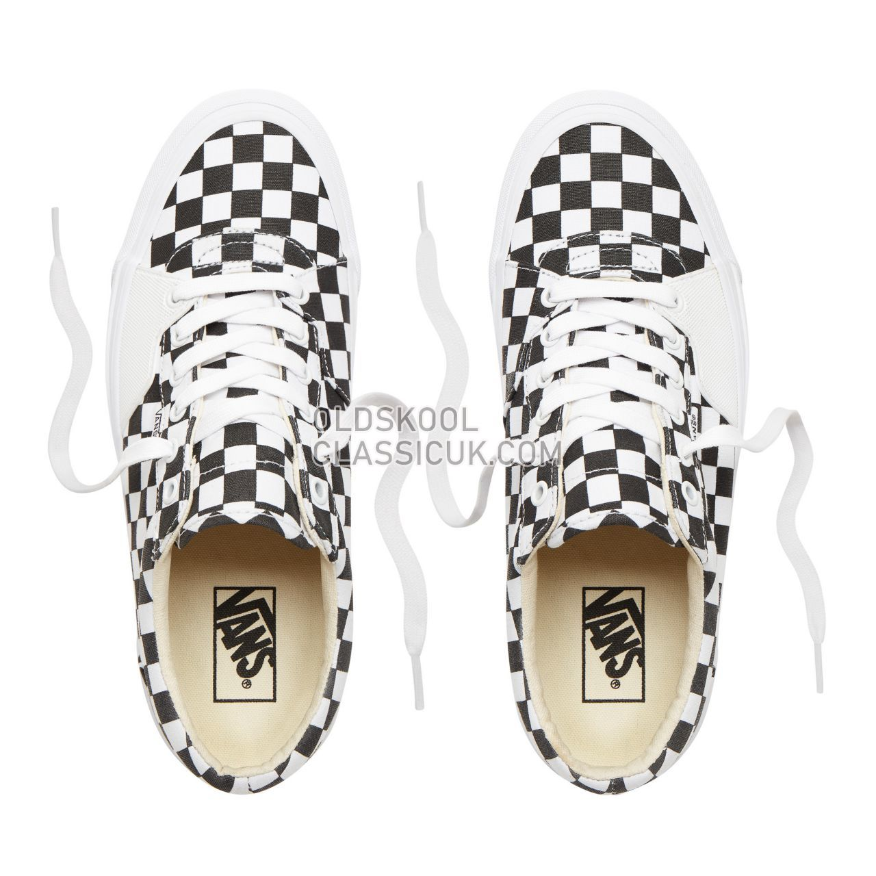 Vans Checkerboard Style 205 Sneakers Mens (Checkerboard) Black/True White VN0A3DPT5GU Shoes