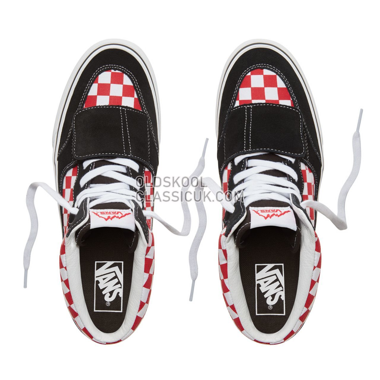 97f6587009 Vans Suede Checkerboard Mountain Edition Sneakers Mens (Checkerboard) Black  Red VA3TKG35U Shoes - £50