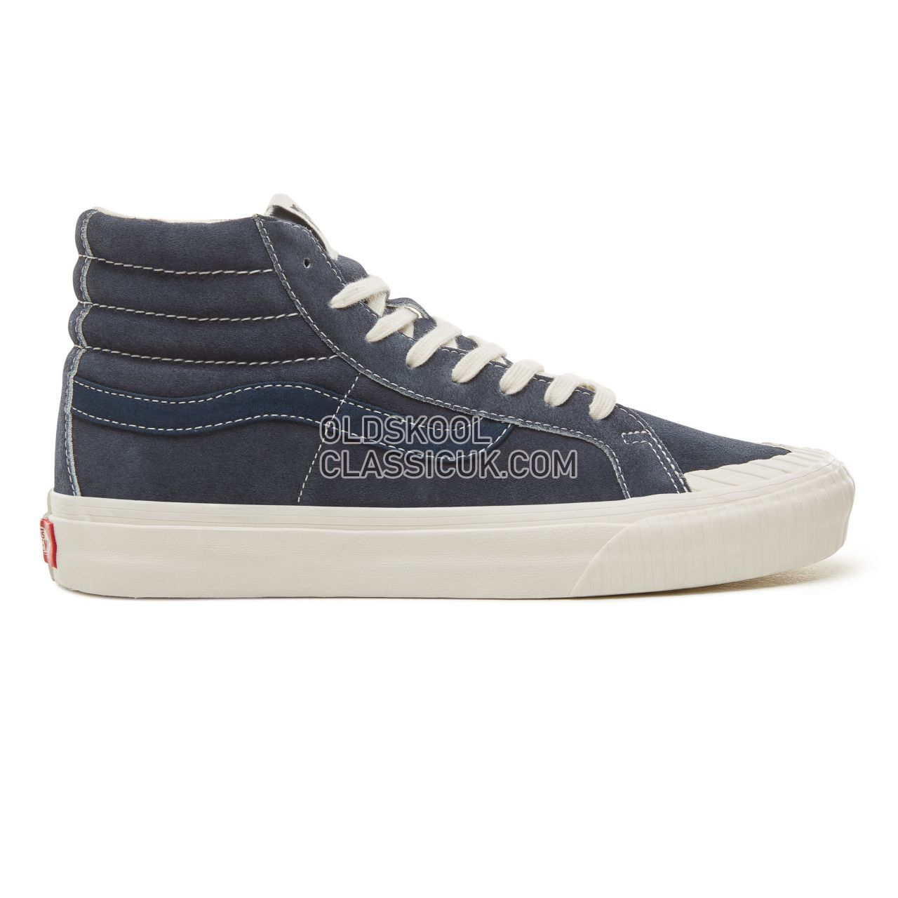 Vans Suede Vintage Military Sk8-Hi Reissue 138 Sneakers Mens (Vintage Military) Dress Blues VA3TKPUCJ Shoes