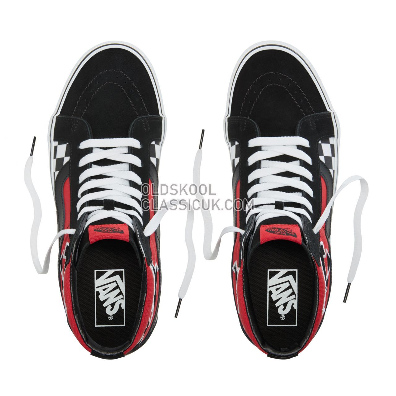 Vans Japanese Type Sk8-Hi Reissue Sneakers Mens (Japanese Type) Racing Red/True White VA2XSBSJY Shoes