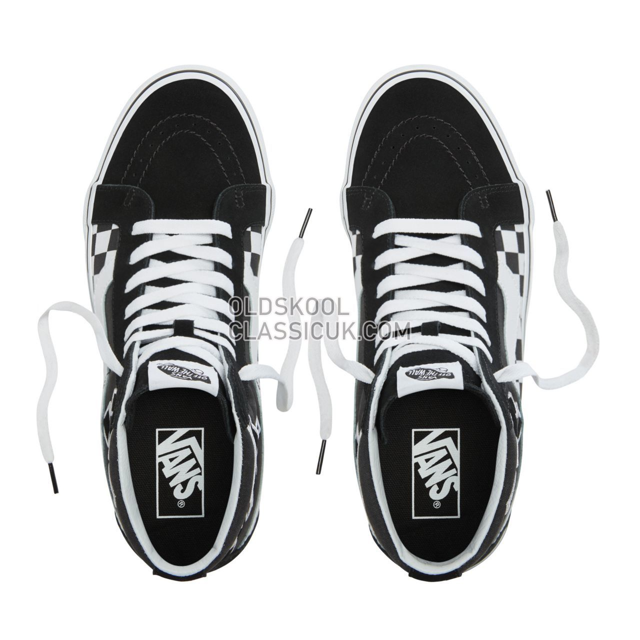Vans Japanese Type Sk8-Hi Reissue Sneakers Mens (Japanese Type) Black/True White VA2XSBSJZ Shoes