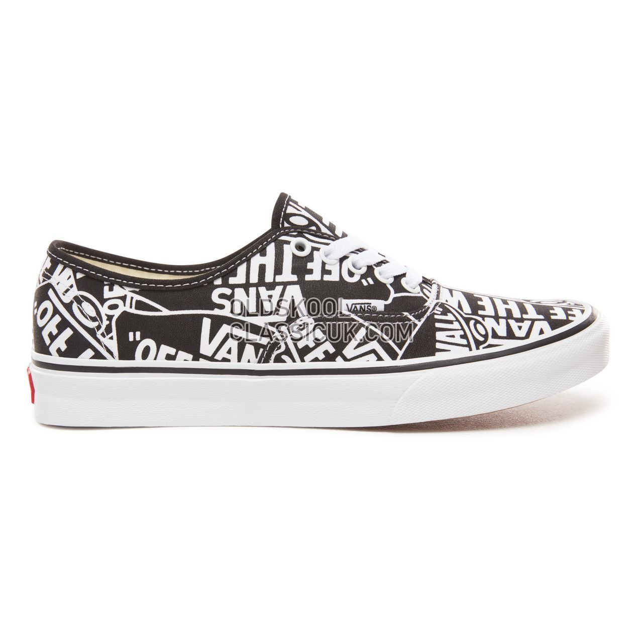 Vans Otw Repeat Authentic Sneakers Mens (Otw Repeat) Black/True White VN0A38EMUKK Shoes