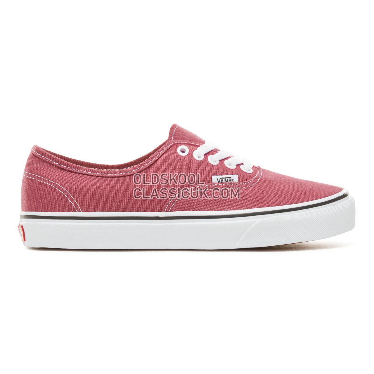 Vans Color Theory Authentic Sneakers (Unisex) Mens Dry Rose/True White VA38EMU64 Shoes