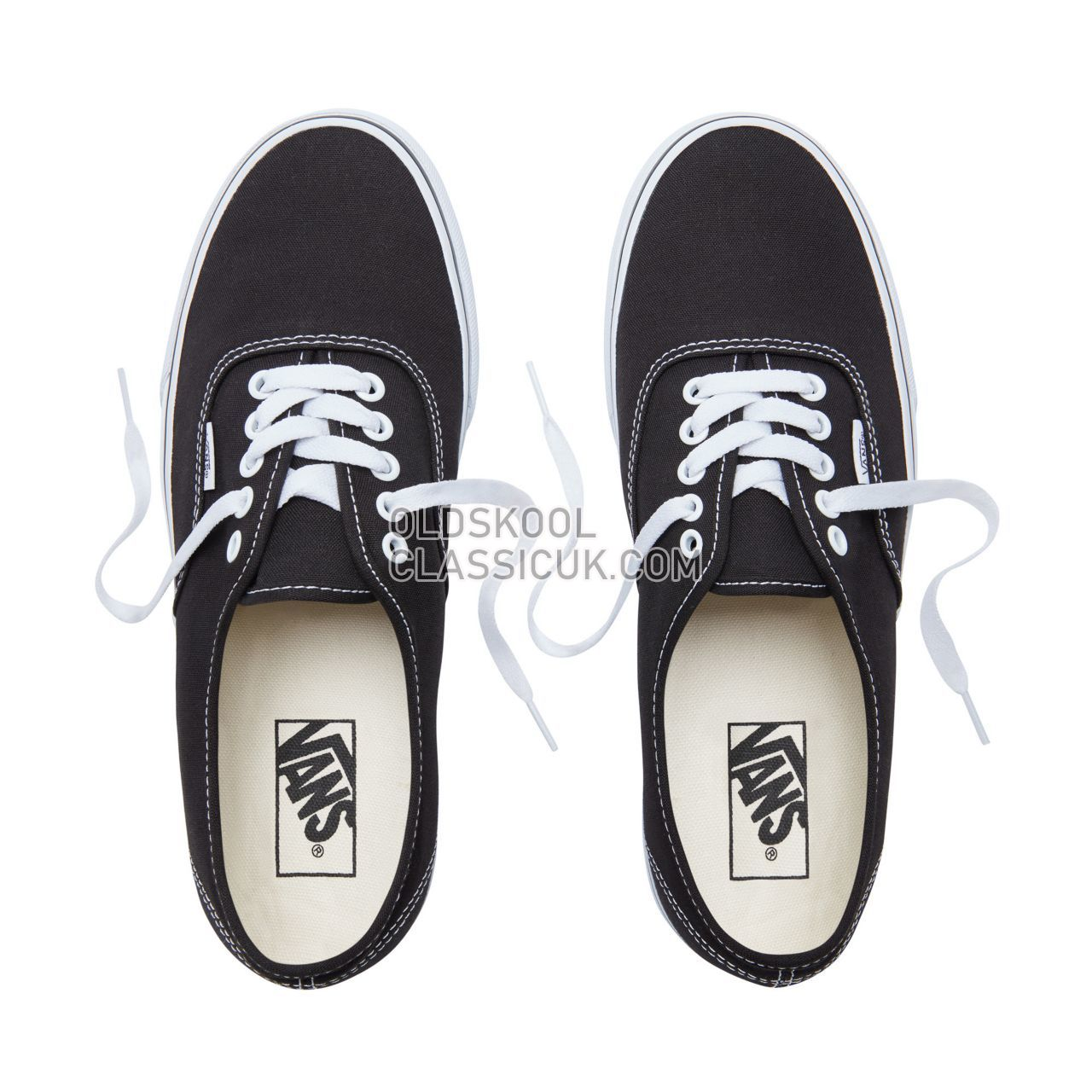 Vans Authentic Sneakers Mens Black VN000EE3BLK Shoes