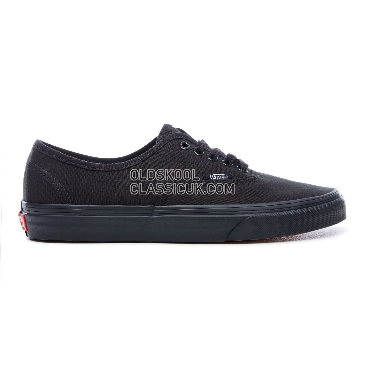 Vans Authentic Sneakers Mens Black VN000EE3BKA Shoes
