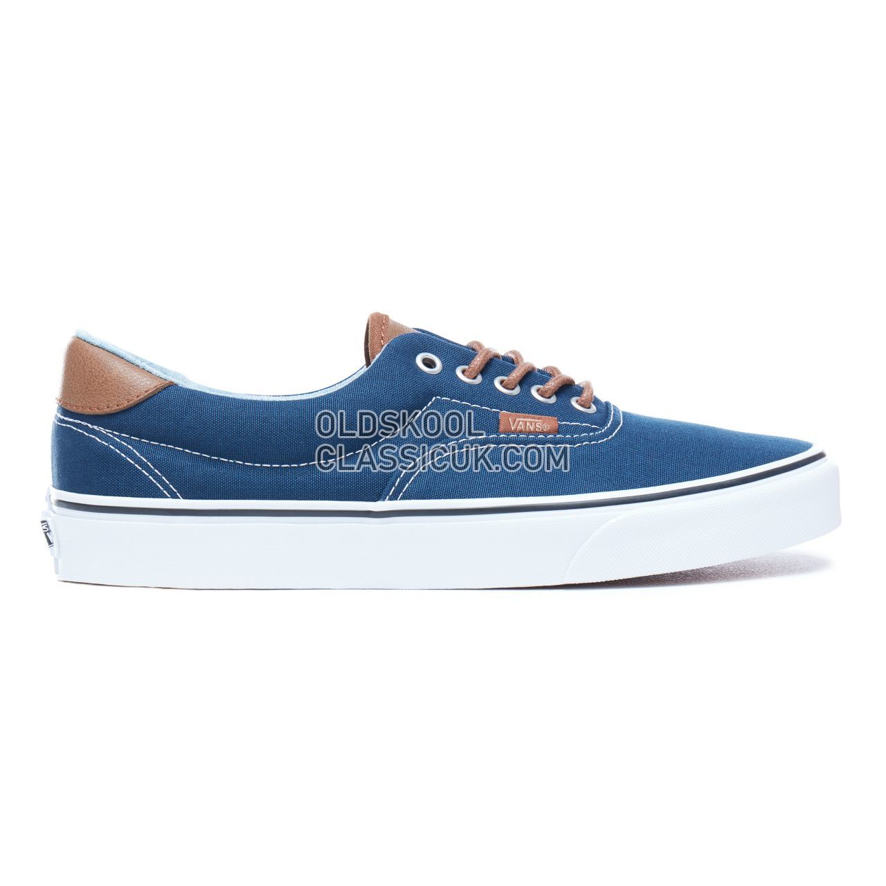 db08a5708f4 Vans C L Era 59 Sneakers Mens Dress Blues-Acid Denim VA38FSQ6Z Shoes ...