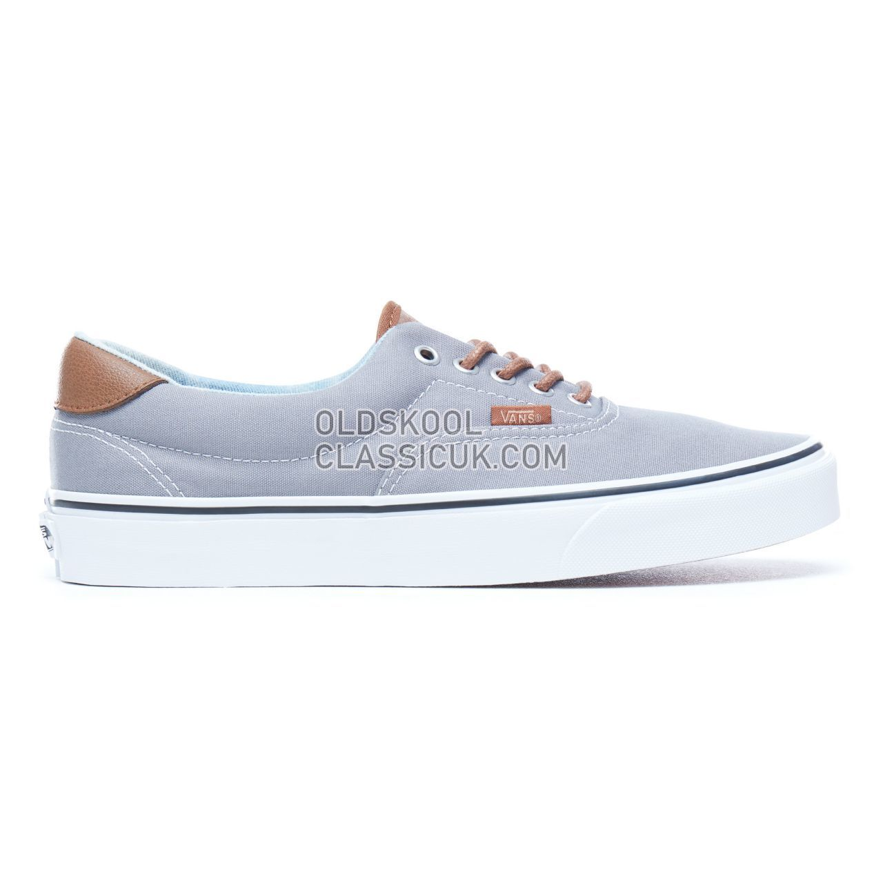 c84fb68423 Vans C L Era 59 Sneakers Mens Frost Gray-Acid Denim VA38FSQ70 Shoes ...