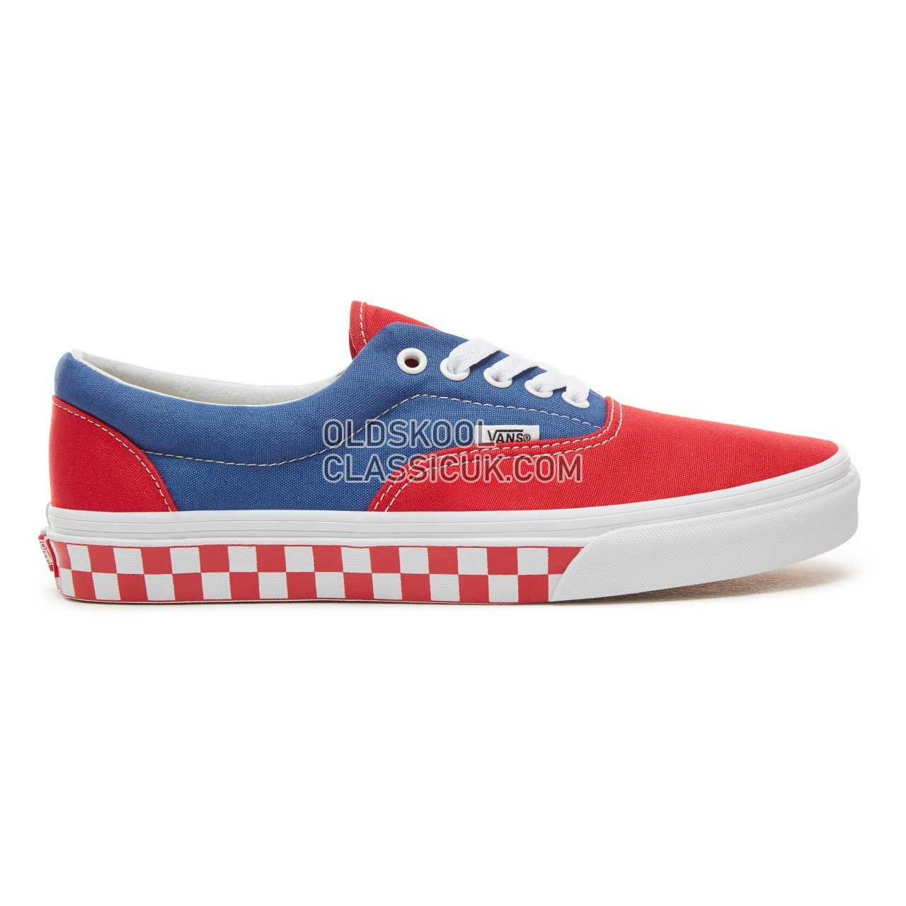 Vans BMX Checkerboard Era Sneakers Mens (Bmx Checkerboard) True Blue/Red VA38FRU8H Shoes