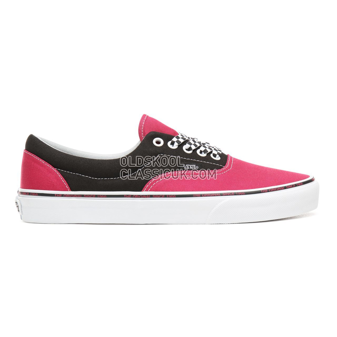 ba27593a32 Vans Era Sneakers Mens Jazzy Black True White VN0A38FRS1S Shoes - £55
