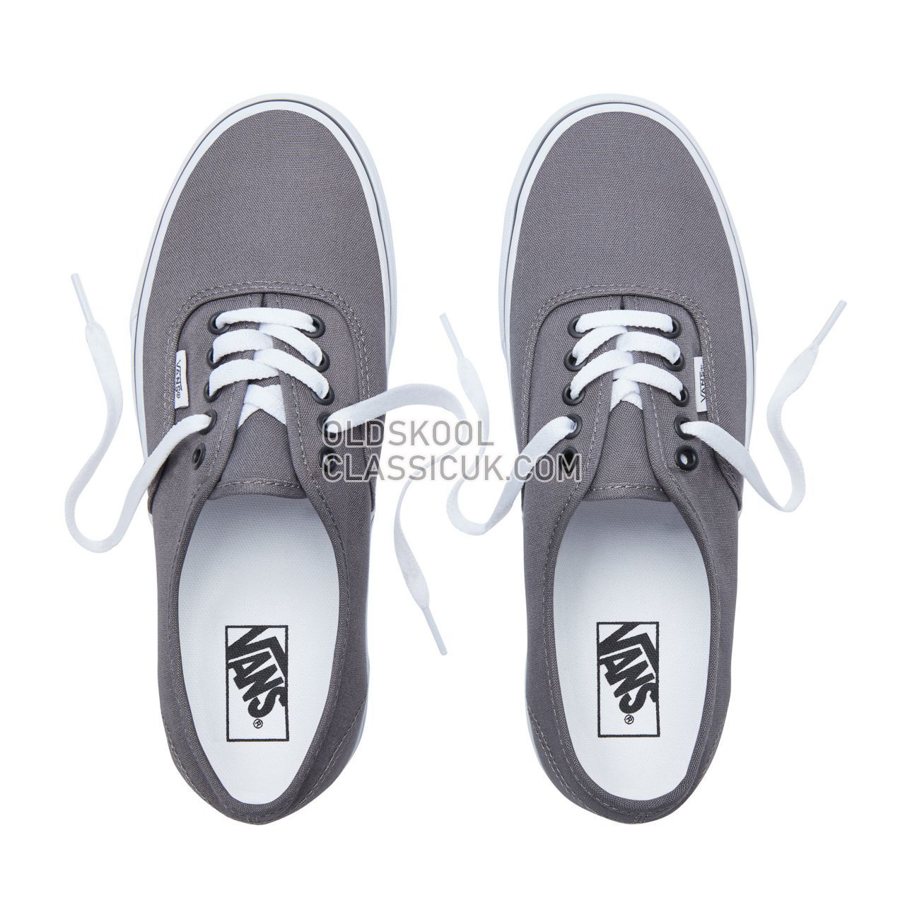 Vans Authentic Sneakers Mens Pewter/Black VJRAPBQ Shoes