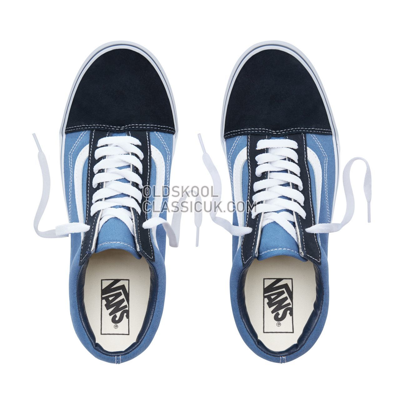 Vans Old Skool Sneakers Mens Womens Unisex Navy VN000D3HNVY Shoes