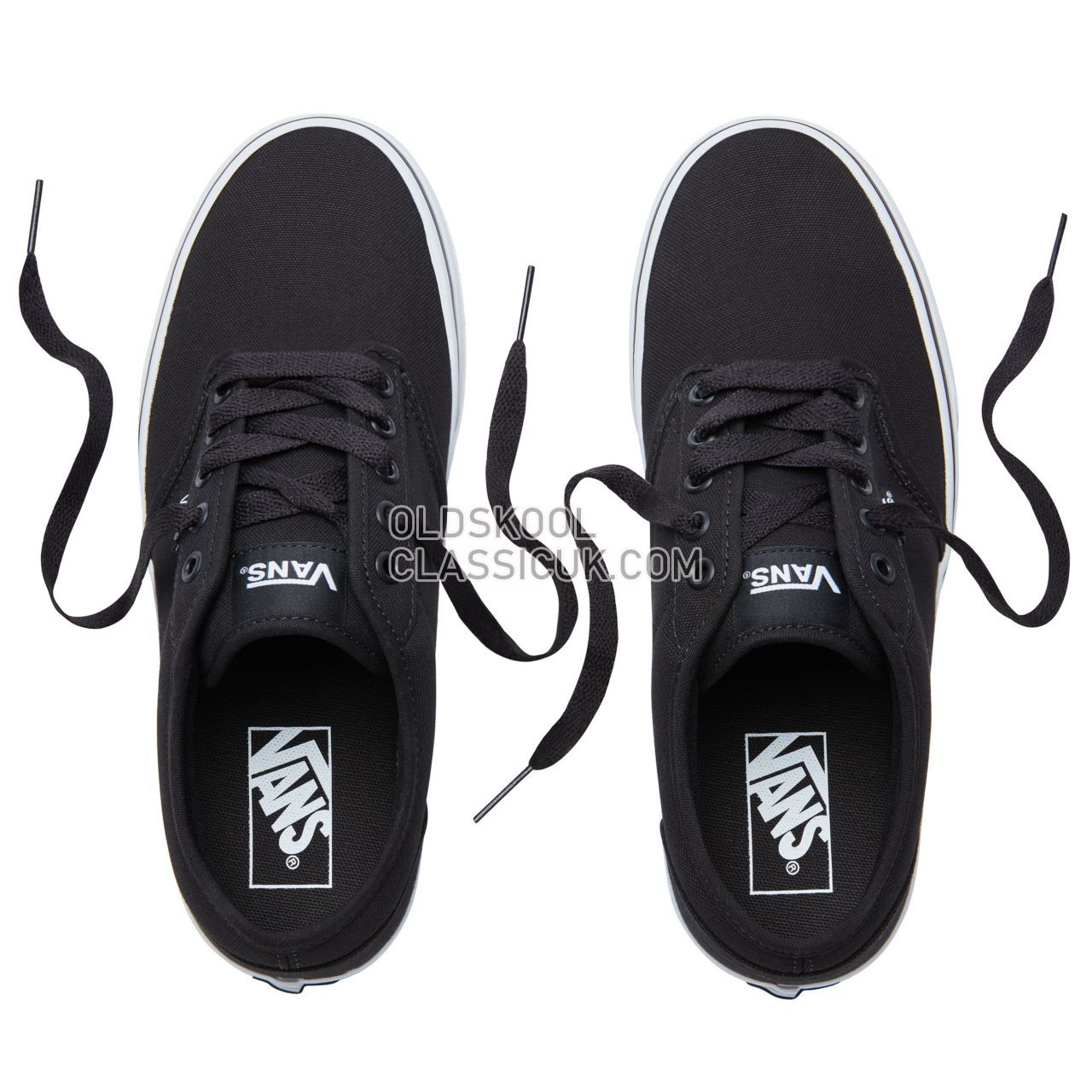 Vans Atwood Sneakers Mens Black/White VTUY187 Shoes