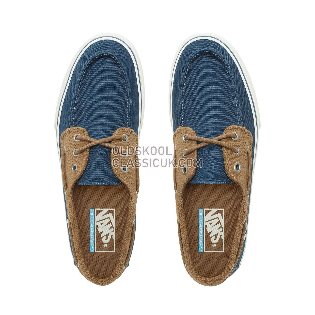 5c5f17d0347 ... Vans Chauffeur SF Sneakers Mens Sailor Blue Breen VN0A3MUBVLN Shoes