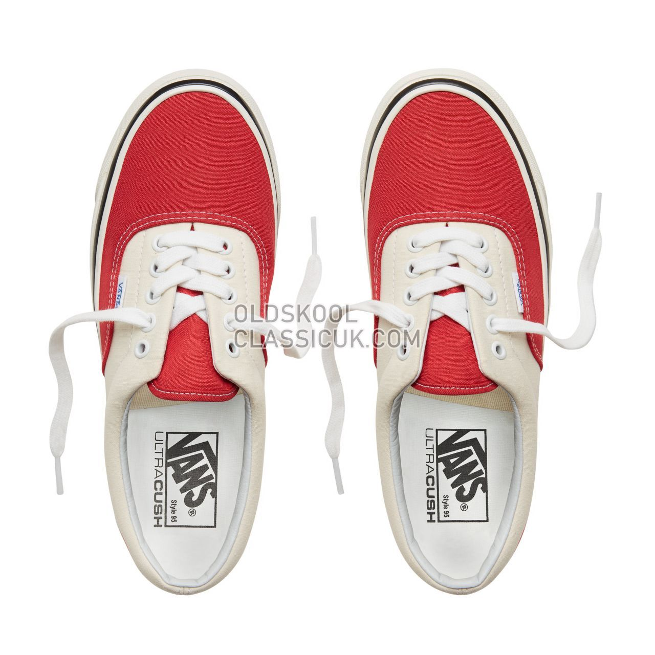 Vans Anaheim Factory Era 95 Sneakers Mens (Anaheim Factory) Og Red/Og White VA2RR1U8Q Shoes