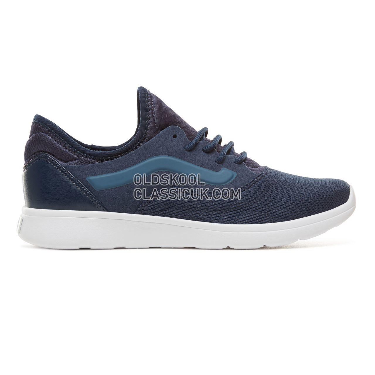 Vans Mesh Iso Route Sneakers Mens (Mesh) Dress Blues/True White VA3TKEU92 Shoes