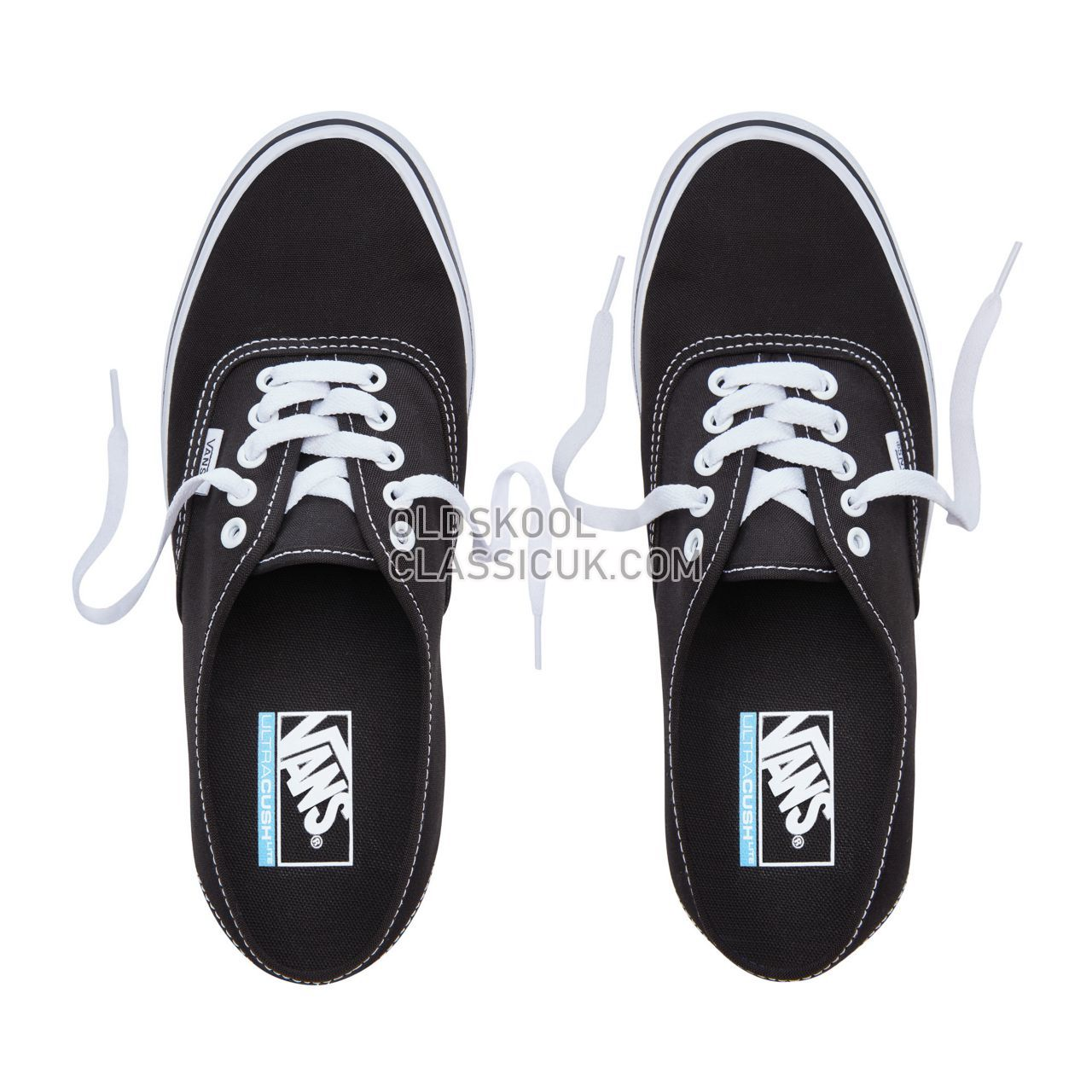 Vans Authentic Lite Sneakers Mens Black/White VA2Z5J187 Shoes