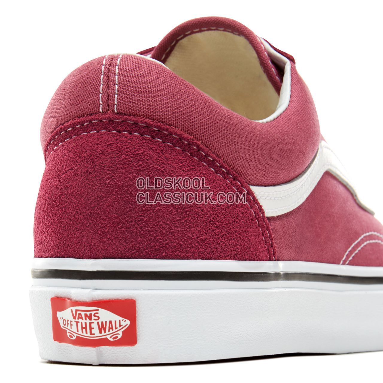 f8b8c6e145c ... Vans Color Theory Old Skool Sneakers (Unisex) Mens Womens Unisex Dry  Rose True