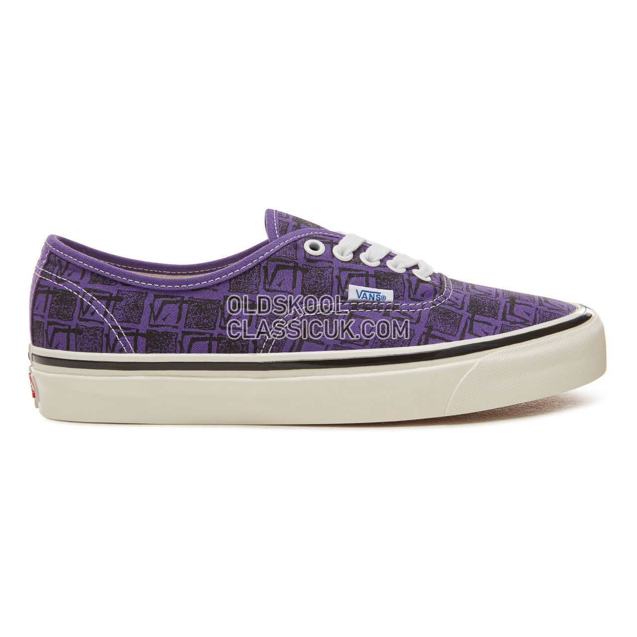 Vans Anaheim Factory Authentic 44 Sneakers Mens (Anaheim Factory) Og Bright Purple/Square Root VA38ENU6B Shoes