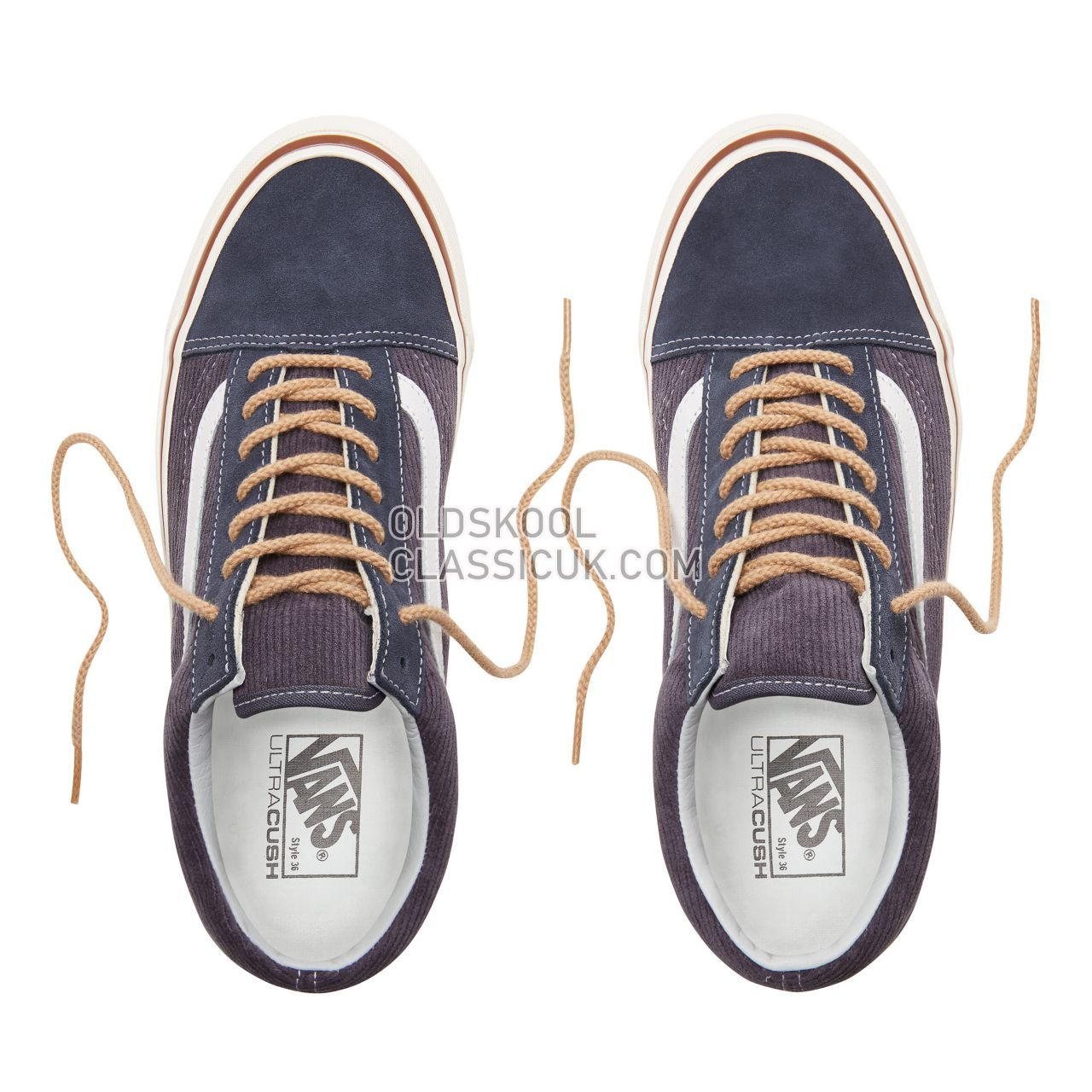 Vans Anaheim Factory Old Skool 36 Dx Sneakers Mens Womens Unisex (Anaheim Factory) Og Navy/Suede/Corduroy VN0A38G2UPH Shoes