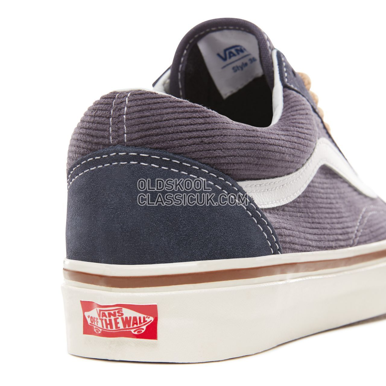 Vans Anaheim Factory Old Skool 36 Dx Sneakers Mens Womens Unisex (Anaheim Factory) Og NavySuedeCorduroy VN0A38G2UPH Shoes £53
