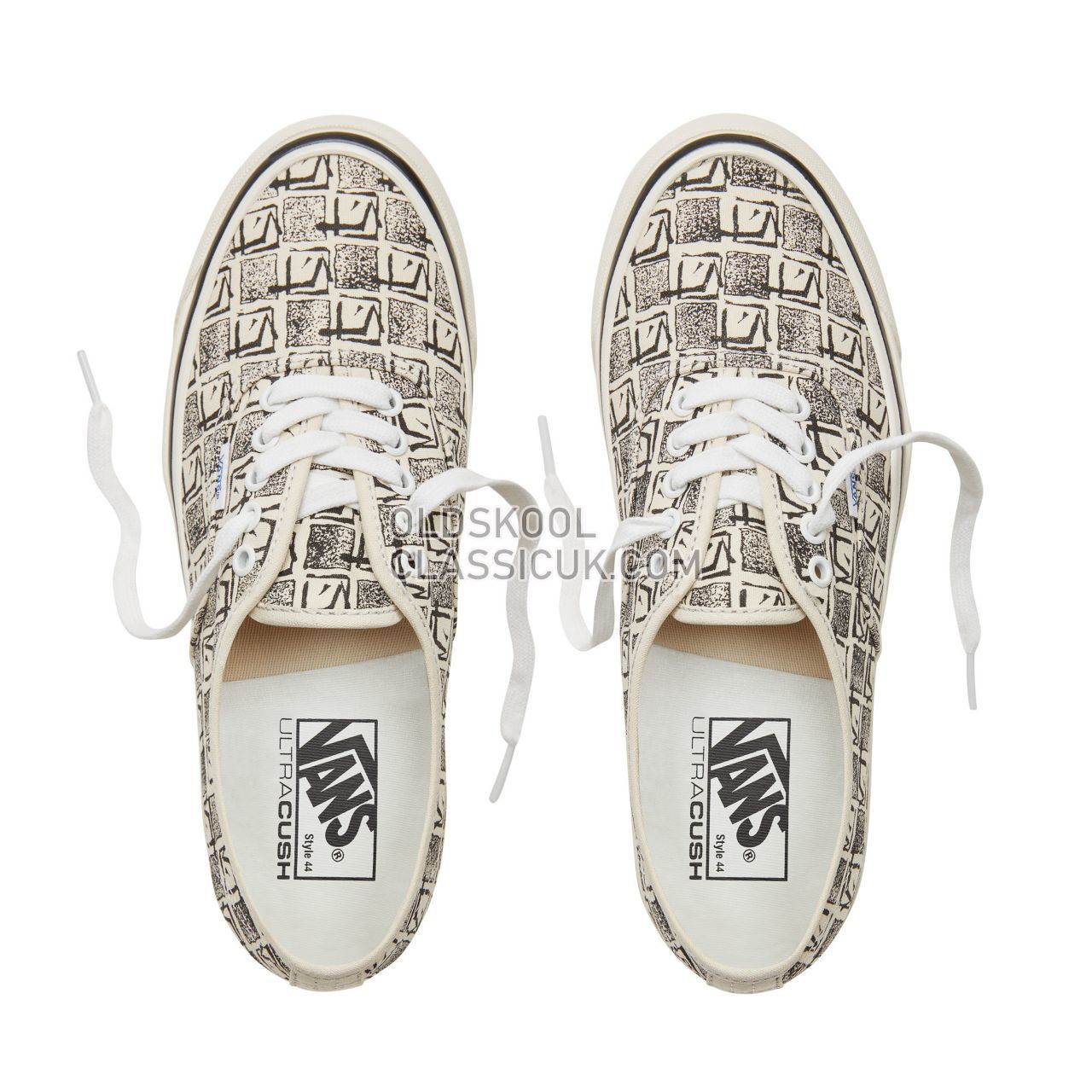 Vans Anaheim Factory Authentic 44 Sneakers Mens (Anaheim Factory) Og White/Square Root VA38ENU6D Shoes