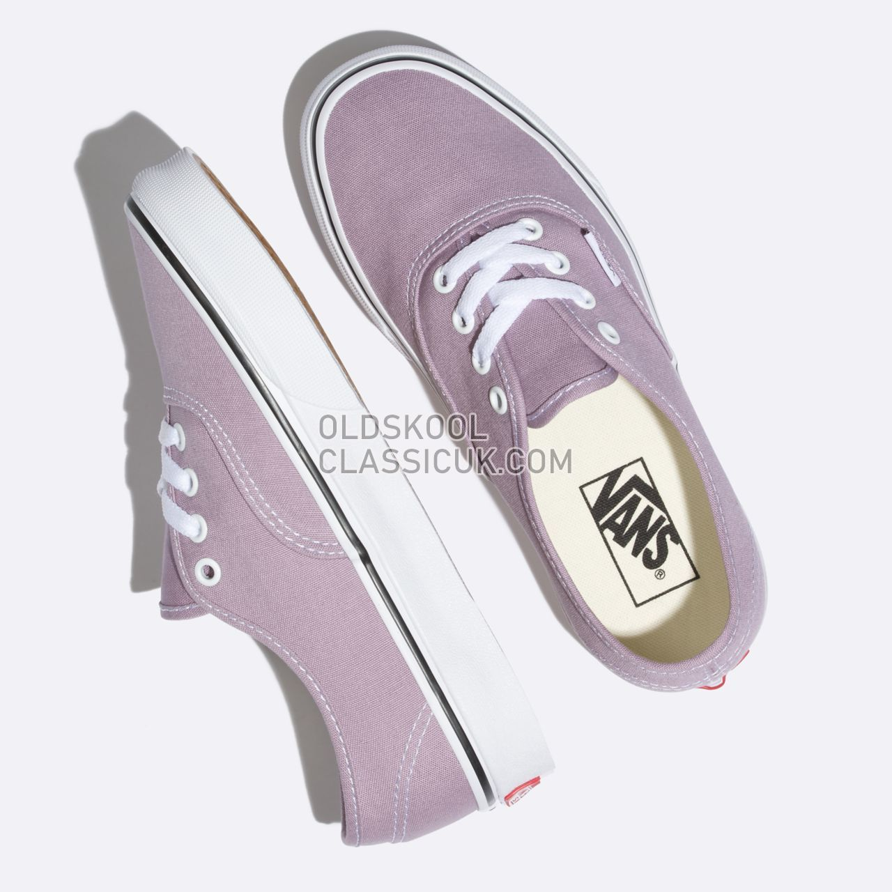 Vans Authentic Sneakers Mens Sea Fog/True White VN0A38EMOVS Shoes