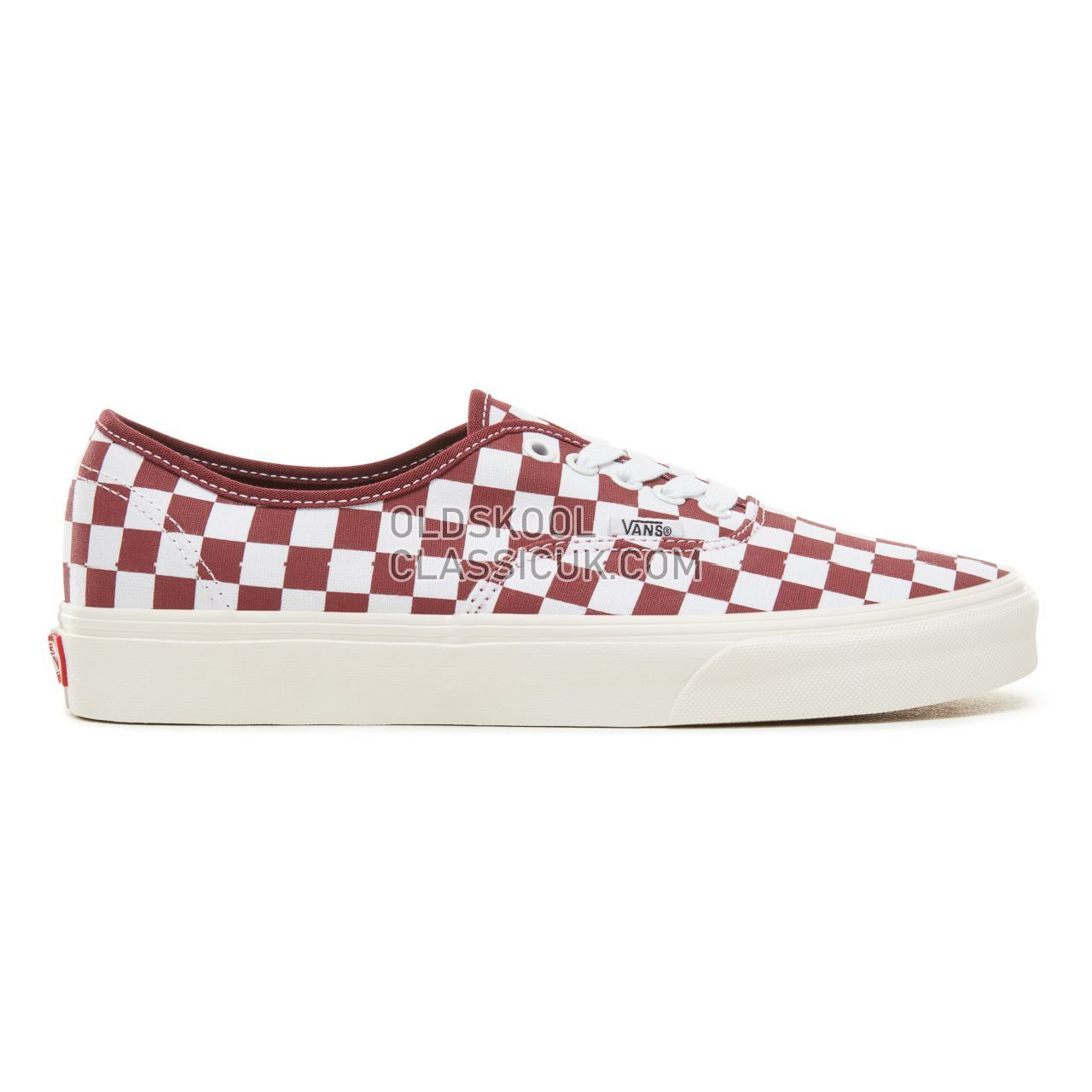 Vans Checkerboard Authentic Sneakers Mens (Checkerboard) Port Royale/Marshmallow VA38EMU54 Shoes