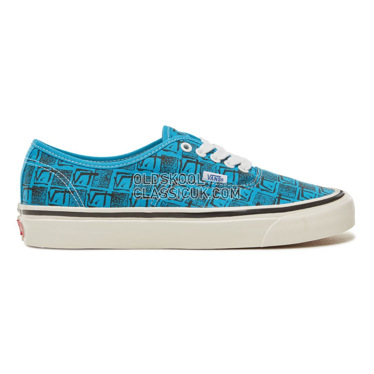 Vans Anaheim Factory Authentic 44 Sneakers Mens (Anaheim Factory) Og Bright Blue/Square Root VA38ENU69 Shoes
