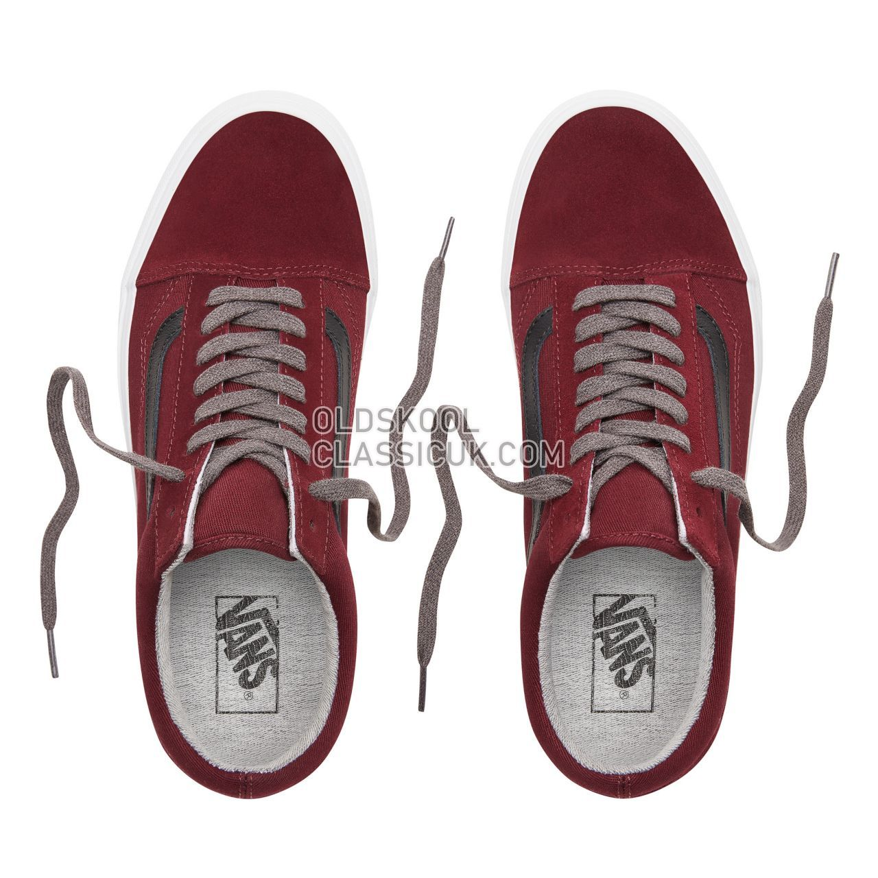 Vans Jersey Lace Old Skool Sneakers Mens Womens Unisex (Jersey Lace) Port Royale/Black VN0A38G1UP7 Shoes