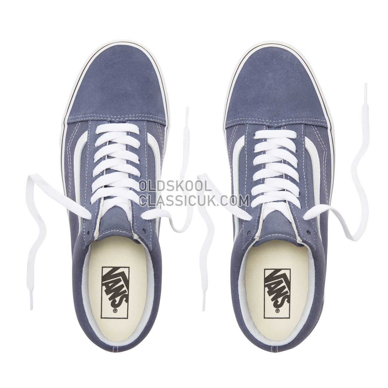 Vans Old Skool Sneakers Mens Womens Unisex Grisaille/True White VN0A38G1UKY Shoes