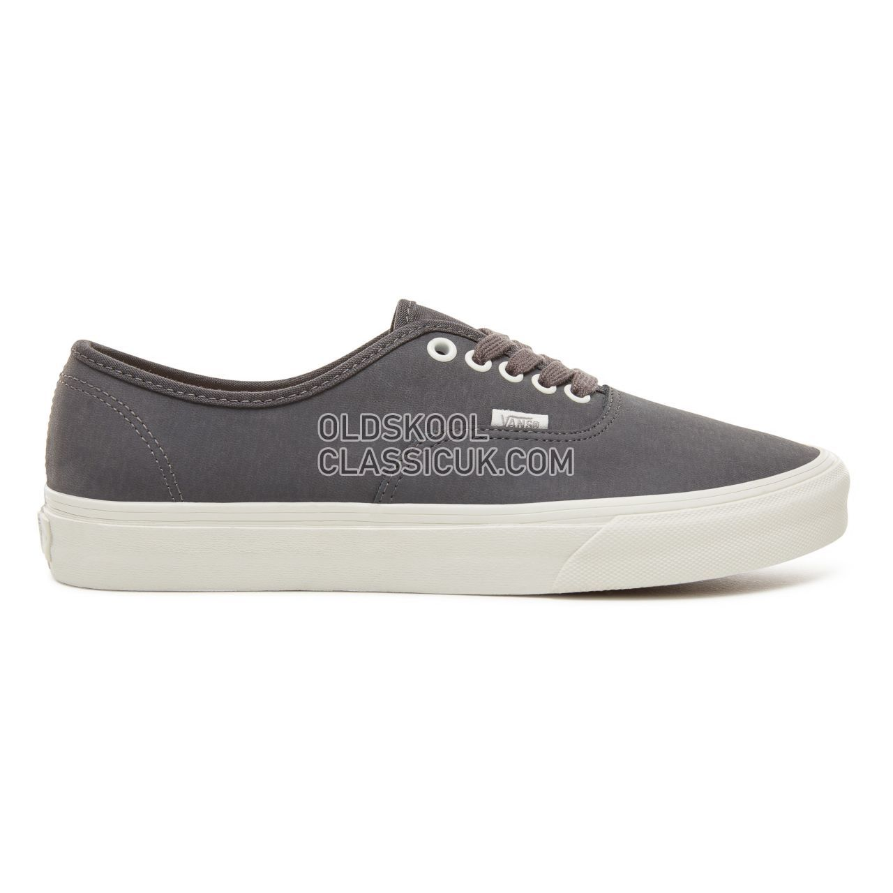 Vans Vansbuck Authentic Sneakers Mens (Vansbuck) Asphalt/Blanc De Blanc VA38EMU4A Shoes