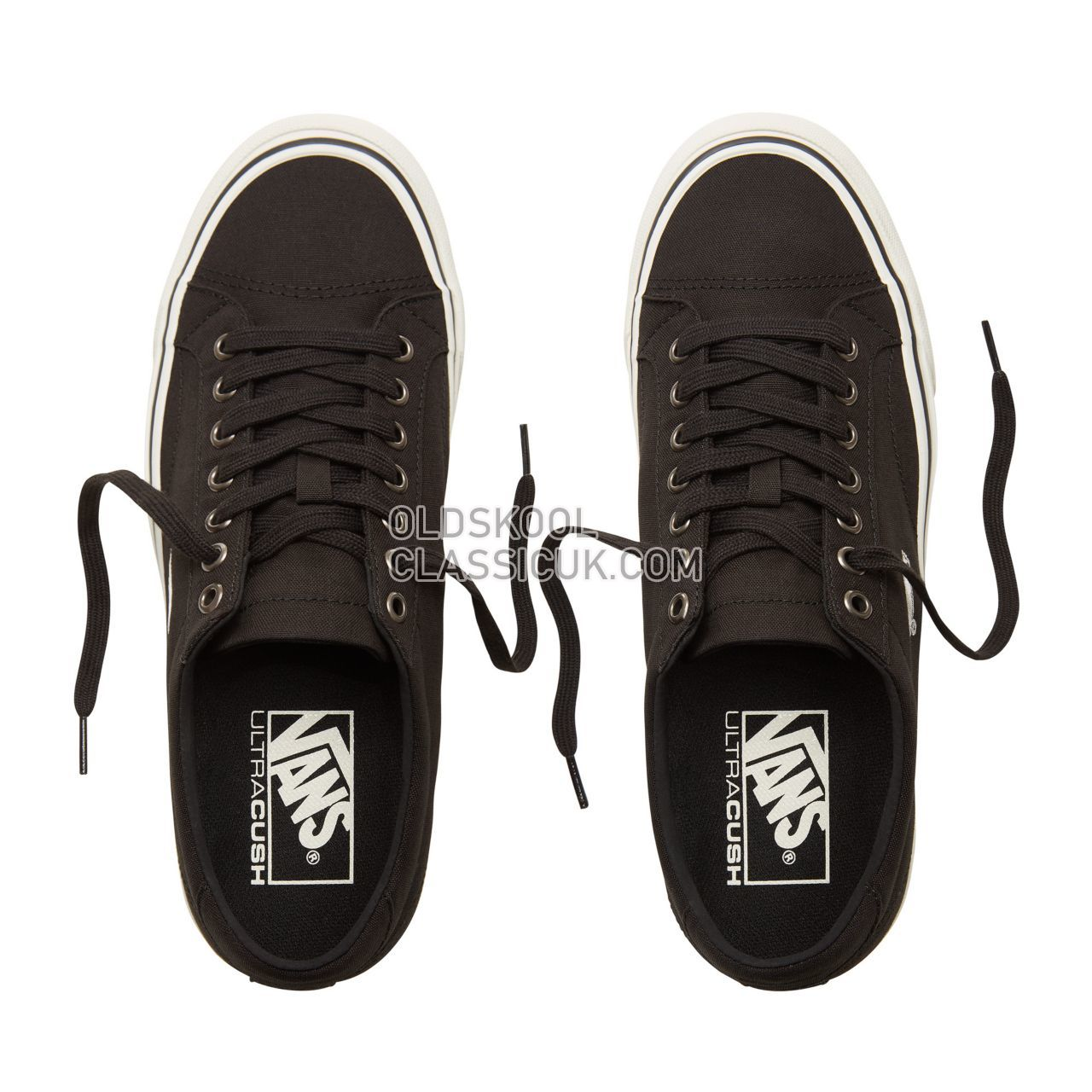 Vans Court Icon Sneakers Mens Black/Cloud Dancer VA3JF2PU7 Shoes