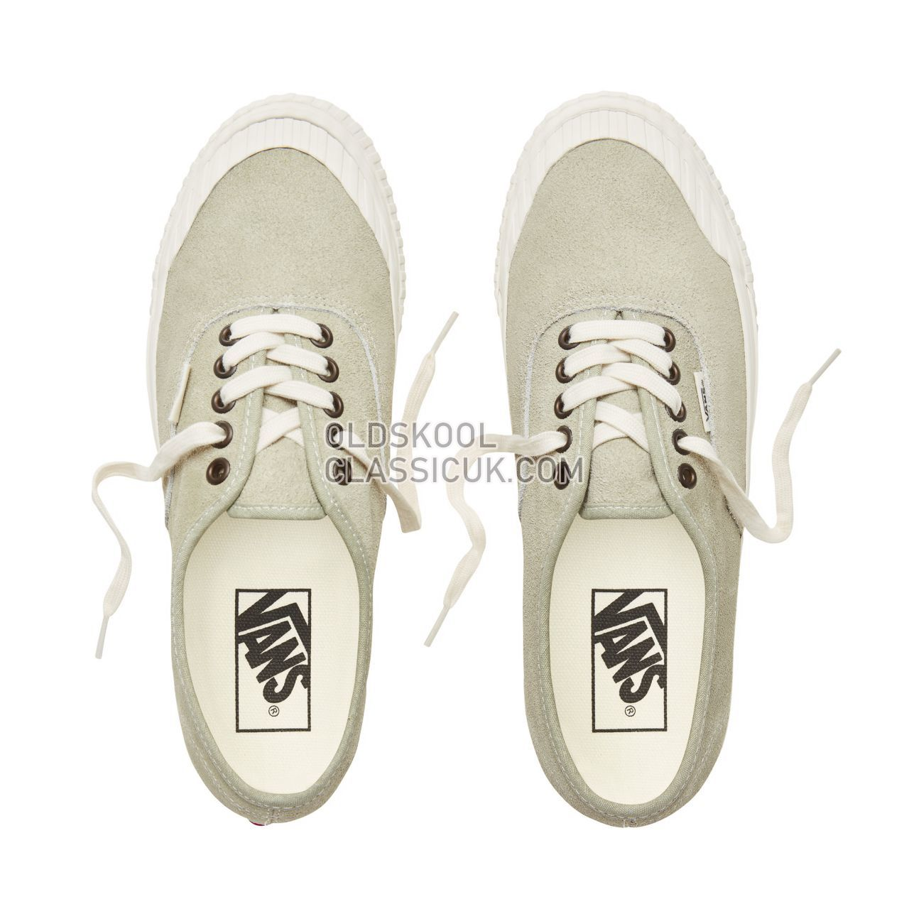 Vans Suede Vintage Military Authentic 138 Sneakers Mens (Vintage Military) Desert Sage VA3TK6U68 Shoes