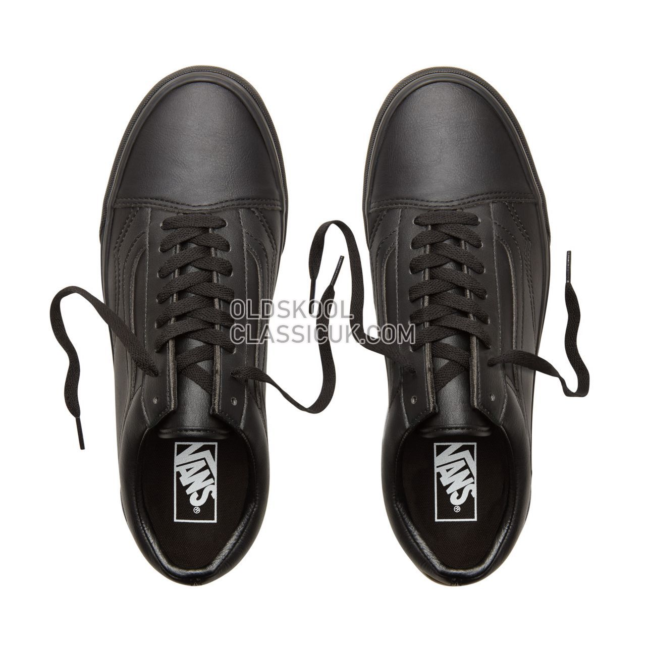 Vans Classic Tumble Old Skool Sneakers Mens Womens Unisex (Classic Tumble) Black Mono VA38G1PXP Shoes