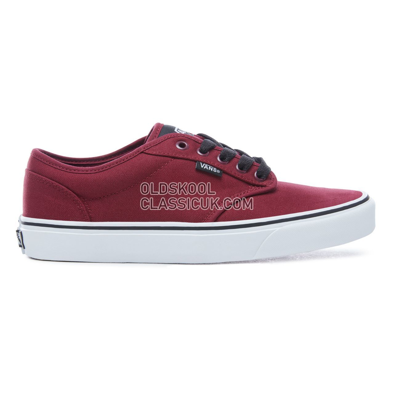 Vans Atwood Sneakers Mens Oxblood/White VTUY8J3 Shoes