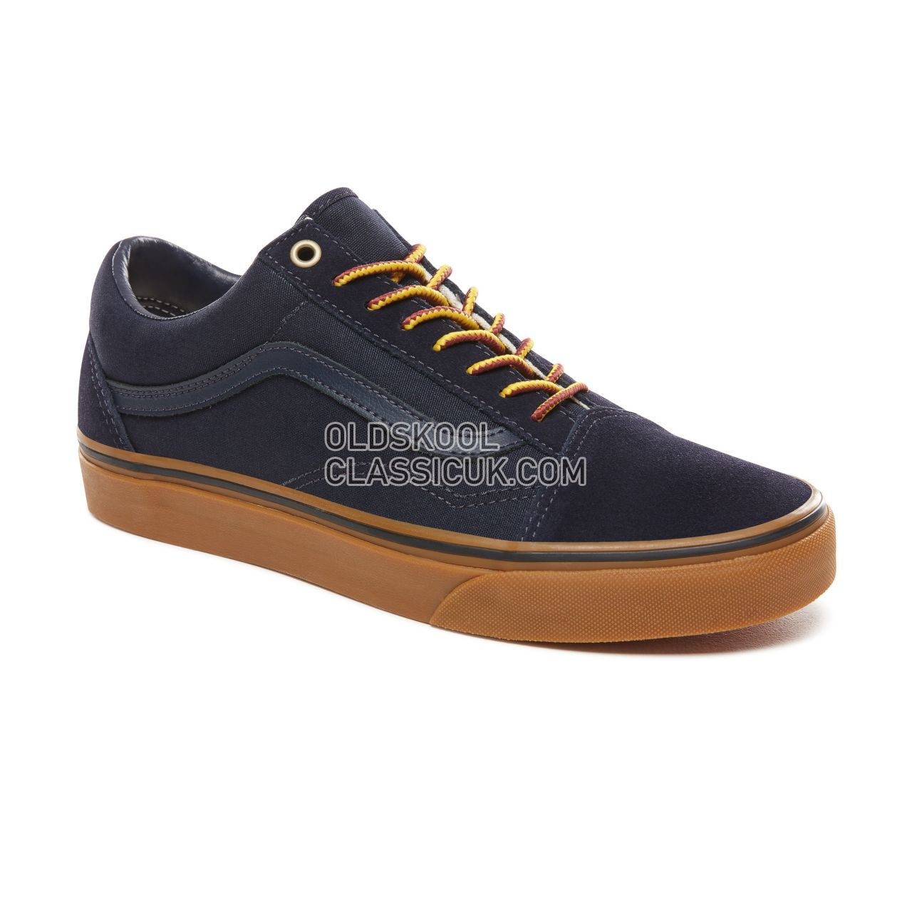 Vans Gum Old Skool Sneakers Mens Womens Unisex (Gumsole) Sky Captain/Boot Lace VN0A38G1UNF Shoes