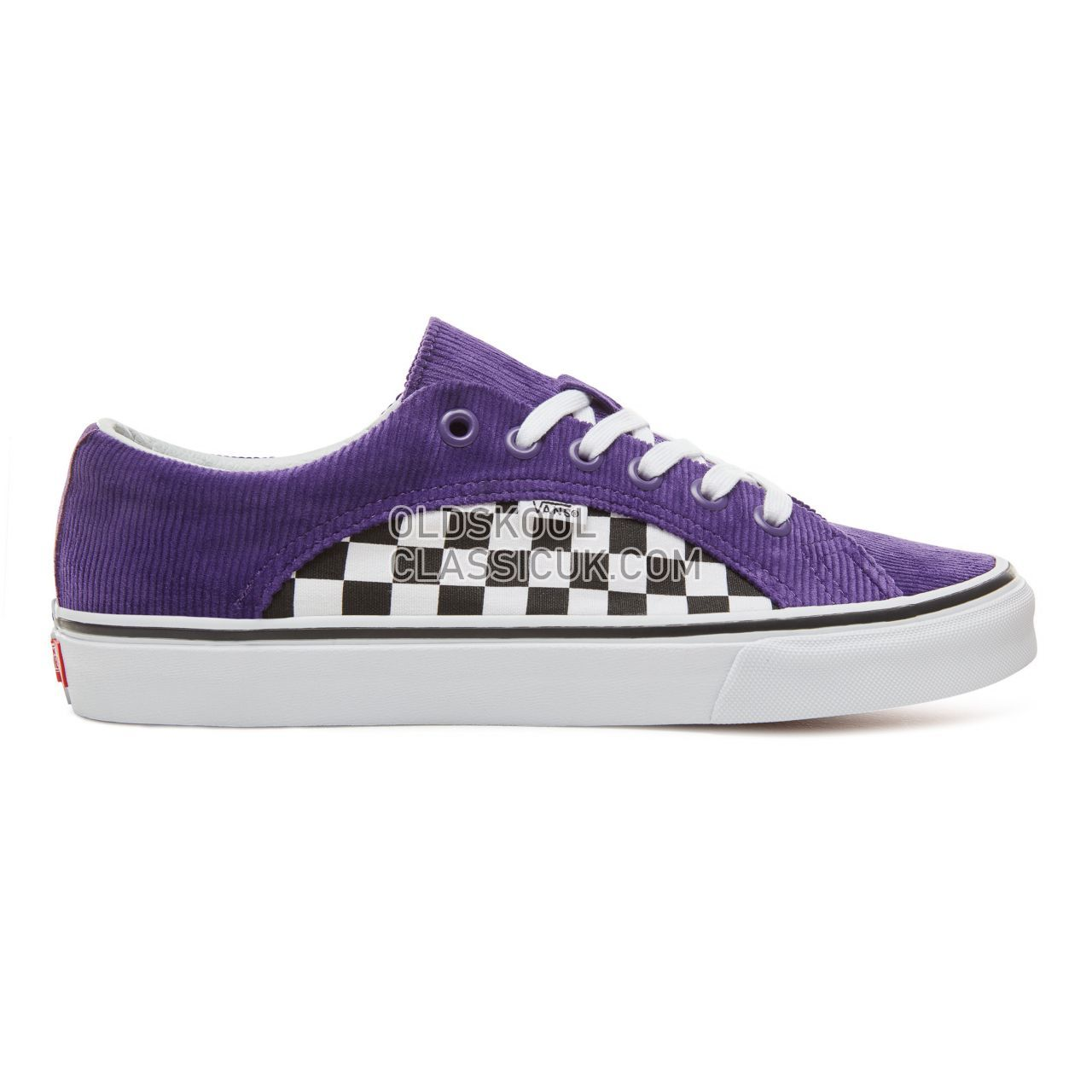 Vans Checkerboard Lampin Sneakers Mens (Checker/Cord) Heliotrope/True White VA38FIU9D Shoes