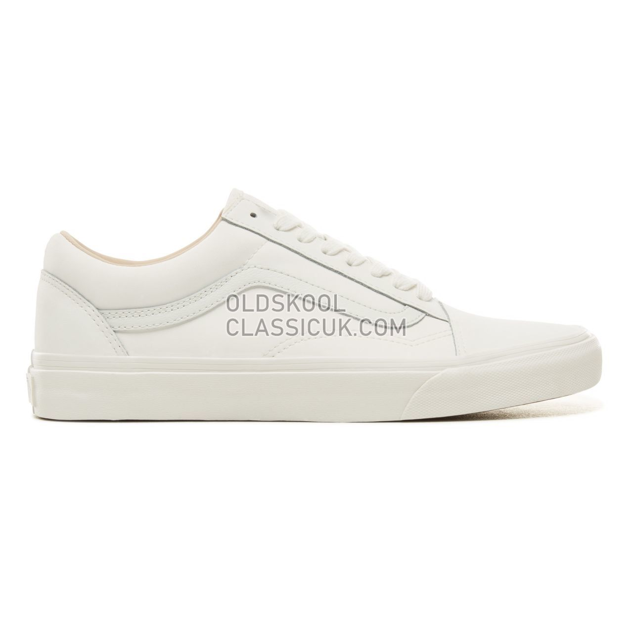 Vans Vansbuck Old Skool Sneakers Mens Womens Unisex (Vansbuck) Blanc De Blanc VA38G1U5V Shoes