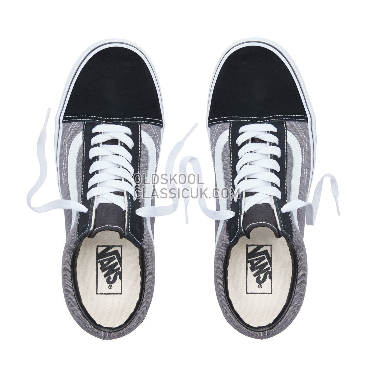 Vans Old Skool Sneakers Mens Womens Unisex Black/Pewter VKW6HR0 Shoes