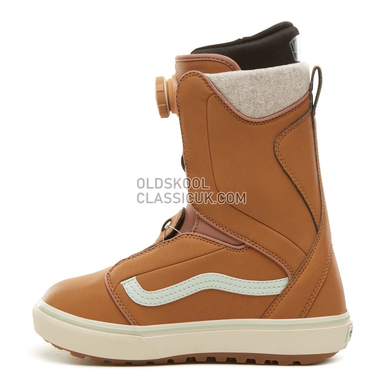 Vans Womens Encore OG Snowboots Womens Tan/Teal VA3TFPREO Shoes